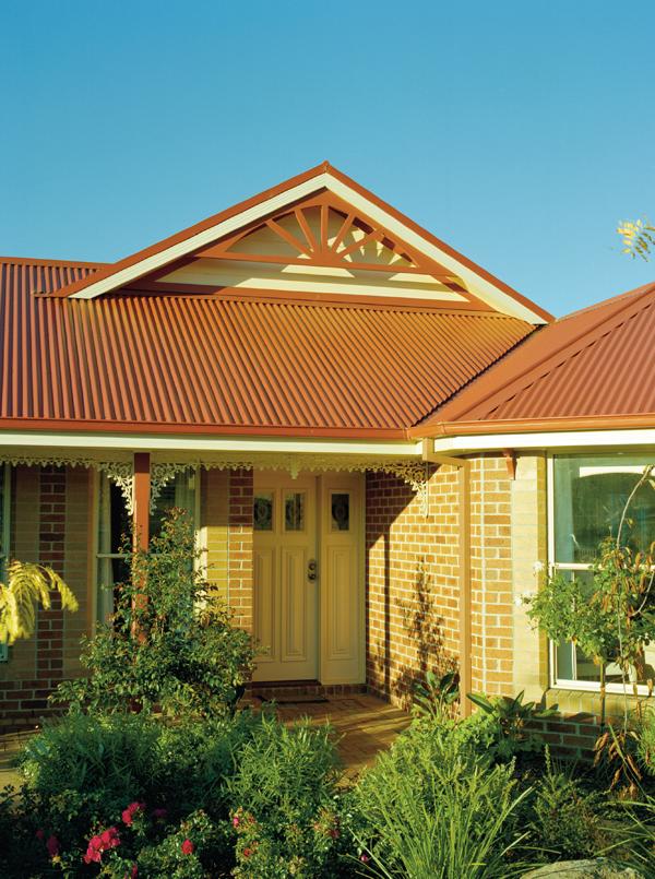 Colour Corrugated Iron Roof