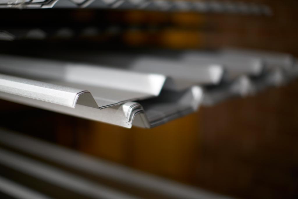 Dualclad Zinc Steel Stock Sheets Robot Building Supplies