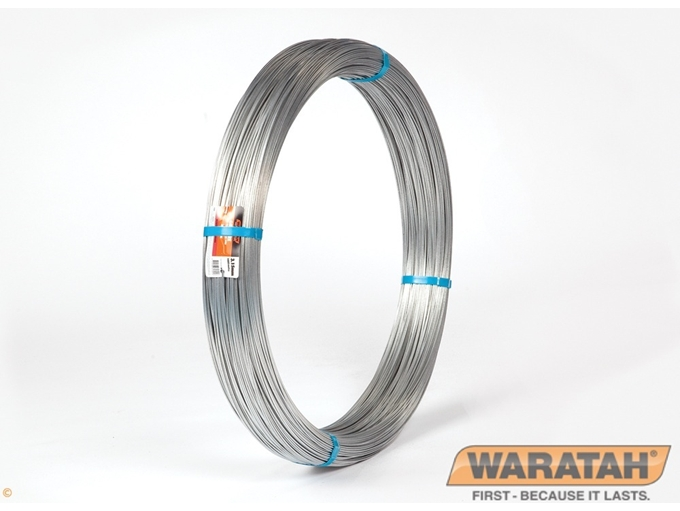 RURAL WARATAH FENCE WIRE 2.65MM 'GROWIRE' HEAVY GAL