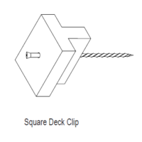 Outback Decking Clips
